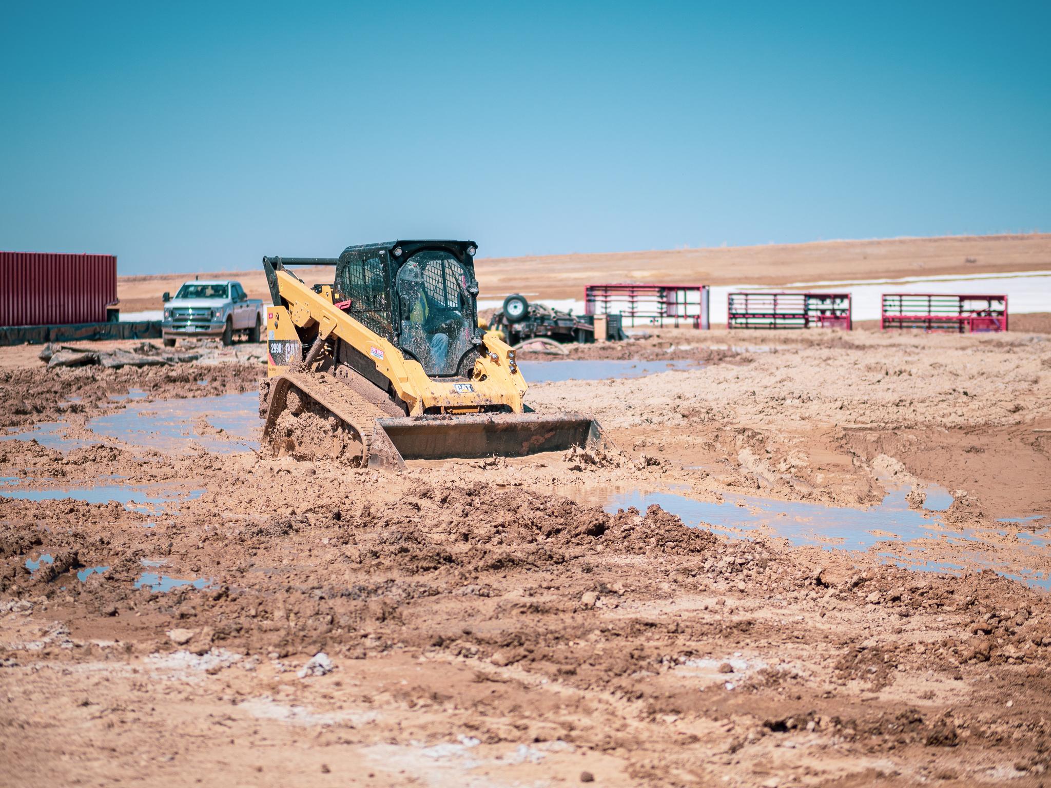 Excavator The Dairy 59
